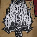 Death Worship Faux Leather Back Patch
