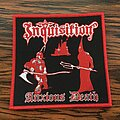 Inquisition - Patch - Inquisition - Anxious Death OFFICIAL Woven Patches