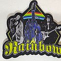 Rainbow - Patch - Rainbow Lazer Cut Woven Patch
