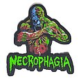 Necrophagia - Season of the Dead Official Lazer Cut Woven Patch