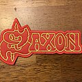 Saxon - Patch - Saxon red logo