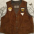 Golden Void - Battle Jacket - 70's- suede waistcoat