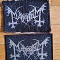 Mayhem - Patch - Vintage Mayhem Patches