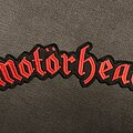 Motörhead - Patch - Motörhead logo backpatch