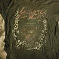 Worn out Slayer shirt 2010