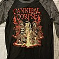 Cannibal Corpse Baseball Tee