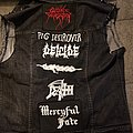 Cannibal Corpse - Battle Jacket - First jacket. Work in progress.