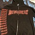 Devourment - Hooded Top - Devourment legalize homicide hoodie