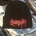 Bleeding red logo beanie