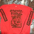 *SOLD* Enemy Mind no safe place red longsleeve TShirt or Longsleeve