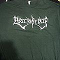 *SOLD* Three Knee Deep green logo shirt