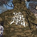 *SOLD* Facewreck camo PAHC hoodie Hooded Top