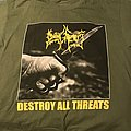 *SOLD* Dying Fetus destroy all threats green shirt