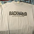 Backhand Baltimore hatecore shirt