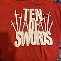 Ten of Swords red shirt