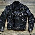 None - Battle Jacket - Hein Gericke leather jacket, sleeve zipper (S/48)