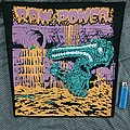"Raw Power ""Screams From The Gutter"" backpatch"