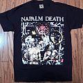 Napalm Death 1992 Utopia Banished tshirt