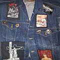 Black Metal Jean Vest