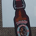 Tankard Beer Bottle Shaped Patch