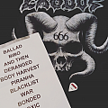 Exodus - Other Collectable - EXODUS Setlist, Shirt and Pic