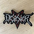 Desaster Logo Shape Original Patch