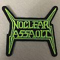 Nuclear Assault Logo Shape Patch