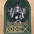 Atlantean Kodex Backpatch Green border