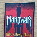 Manowar Into Glory Ride Patch