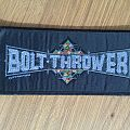 Bolt Thrower Logo Stripe Original Patch