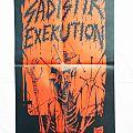Sadistik Exekution ''Demo 1987'' Poster Other Collectable