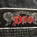 Dio Stand Up and Shout Strip Patch