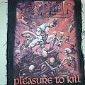 kreator - pleasure to kill backpatch 2001