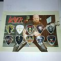 Slayer - collectors plectrum set Other Collectable