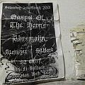 Gospel Of The Horns - Other Collectable - Australian gig flyer 2001