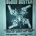 Blood duster aussie gig flyer  Other Collectable