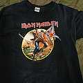 Iron Maiden - TShirt or Longsleeve - Iron Maiden - Somewhere back in time tour 2008