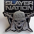 Slayer - slayer nation,  metal pin Pin / Badge