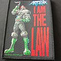 Anthrax - I AM THE LAW Dredd Patch - 2014