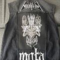 Black Metal Battlevest Battle Jacket