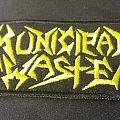 Municipal Waste - Yellow Logo Patch - 2017
