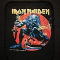 Iron Maiden A Real Live One Patch 1993