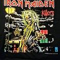 Iron Maiden Killers World Tour Reprint TShirt or Longsleeve