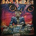 Iron Maiden Virtual XI World Tour Shirt 1998: The Angel and the Gamler