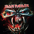 Iron Maiden The Final Frontier: Big Head Shirt 2010