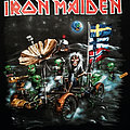 Iron Maiden Nordic Event Shirt The Final Frontier 2010