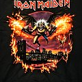 Iron Maiden Brooklyn, NY Event Shirt 2019