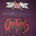Obituary & Dark Angel Back Patch