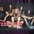 Forbidden Poster Metal Forces Magazine 1990 Other Collectable