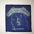Metallica - Patch - Metallica - Ride the Lightning Original Patch (Blue Border)